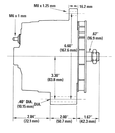 delco cs130d alternator wiring diagram for cs130d