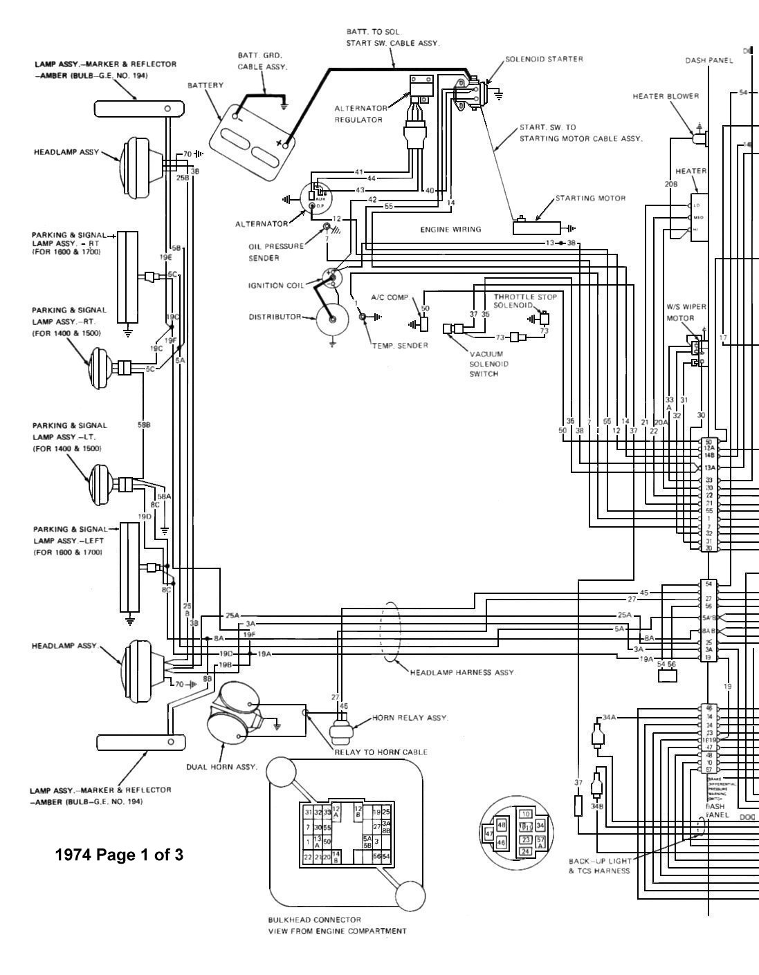 Tom Oljeep Collins Fsj Wiring Page 1973 Jeep Cj5 Alternator Diagram 74 Wiringdiagrampage1