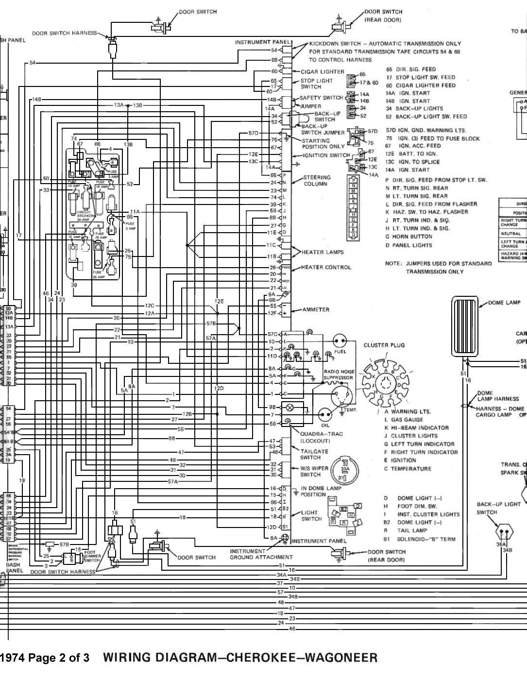 Tom Oljeep Collins Fsj Wiring Page 69 Gm Diagrams For Dummies 74 Wiringdiagrampage2