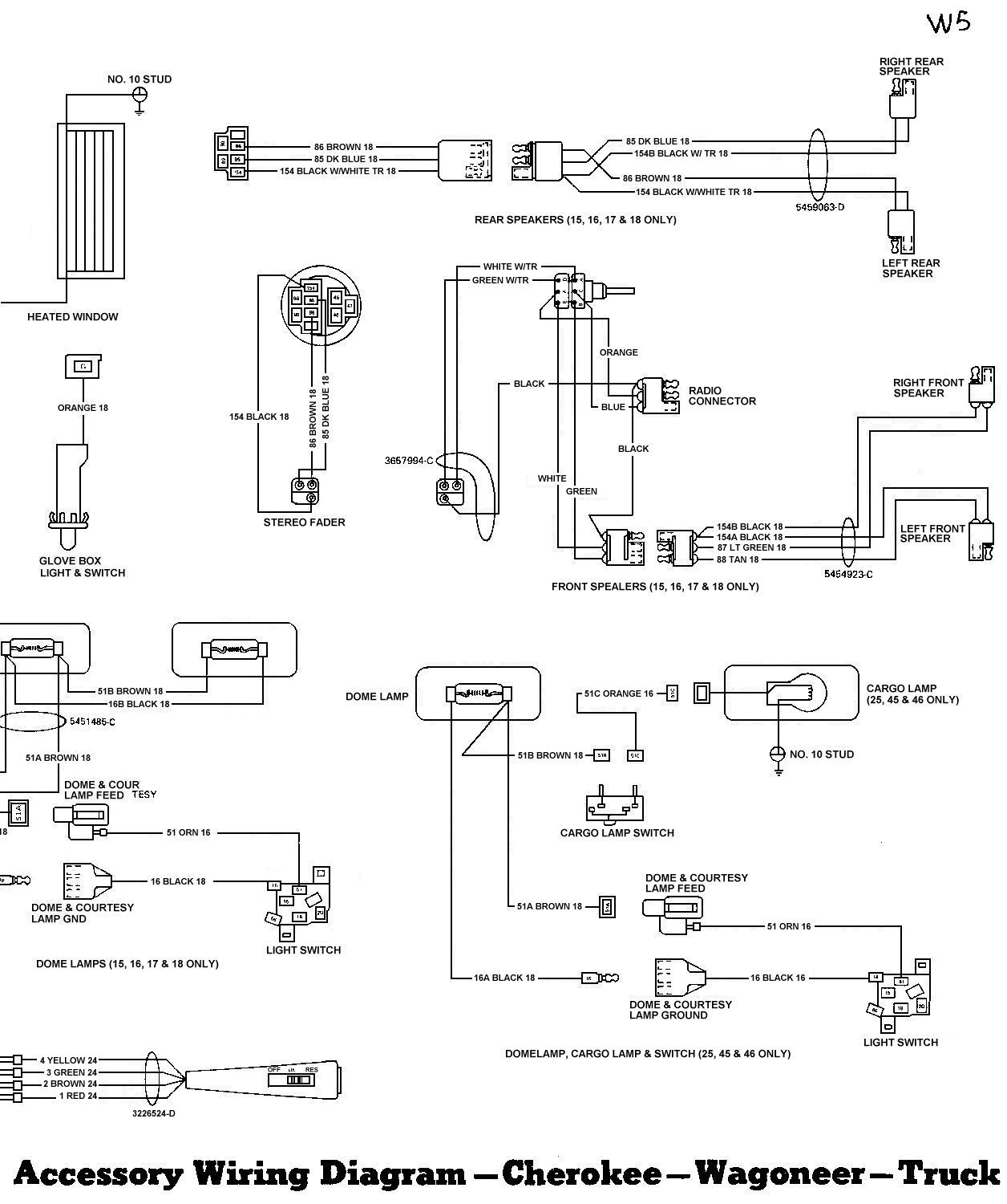 Tom Oljeep Collins Fsj Wiring Page Diagram On 87 Toyota Pickup Stereo Harness Accessory 2