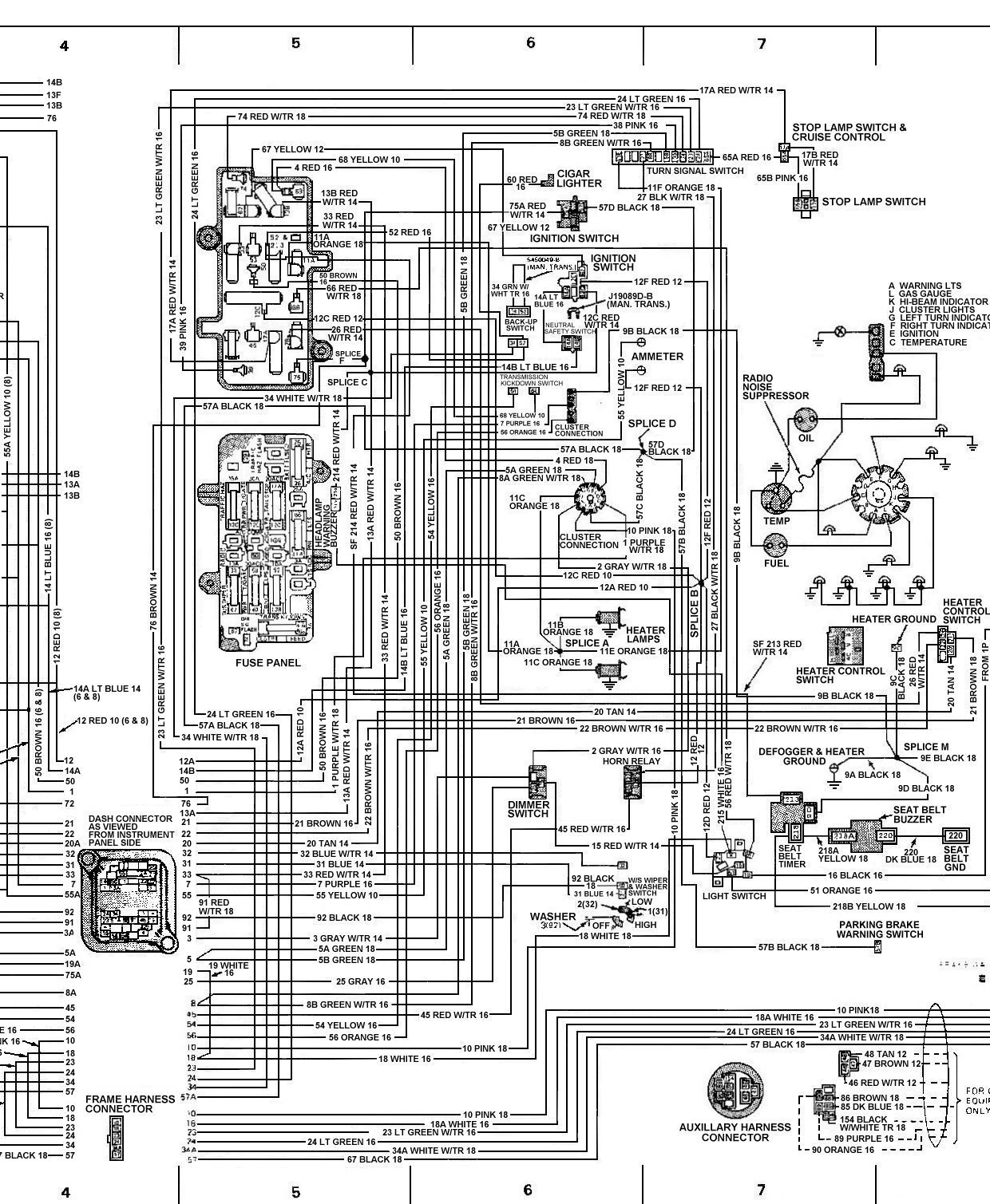 78_FSJ_WiringDiagramPage8 tom 'oljeep' collins fsj wiring page wiring diagram for dummies at cita.asia