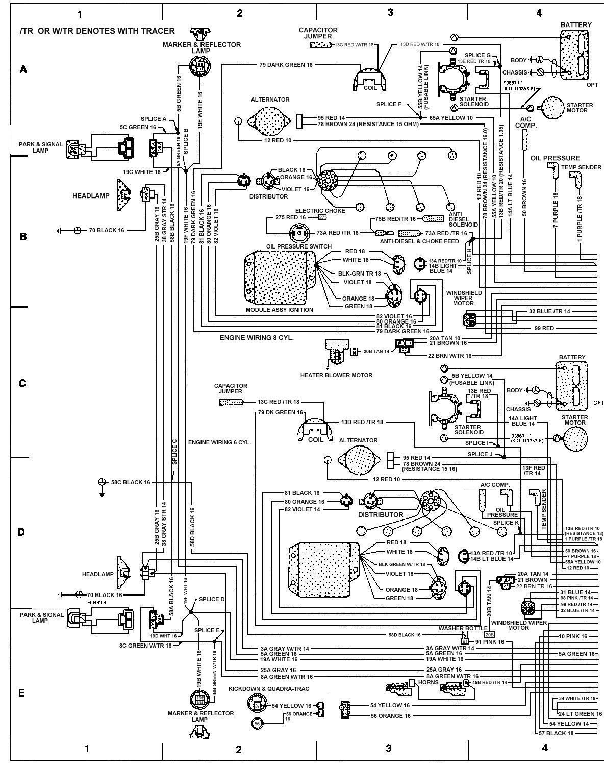 79_FSJ_WiringDiagramPage2 1986 corvette wiring diagram 1986 corvette alternator wiring Car Door Lock Diagram at n-0.co