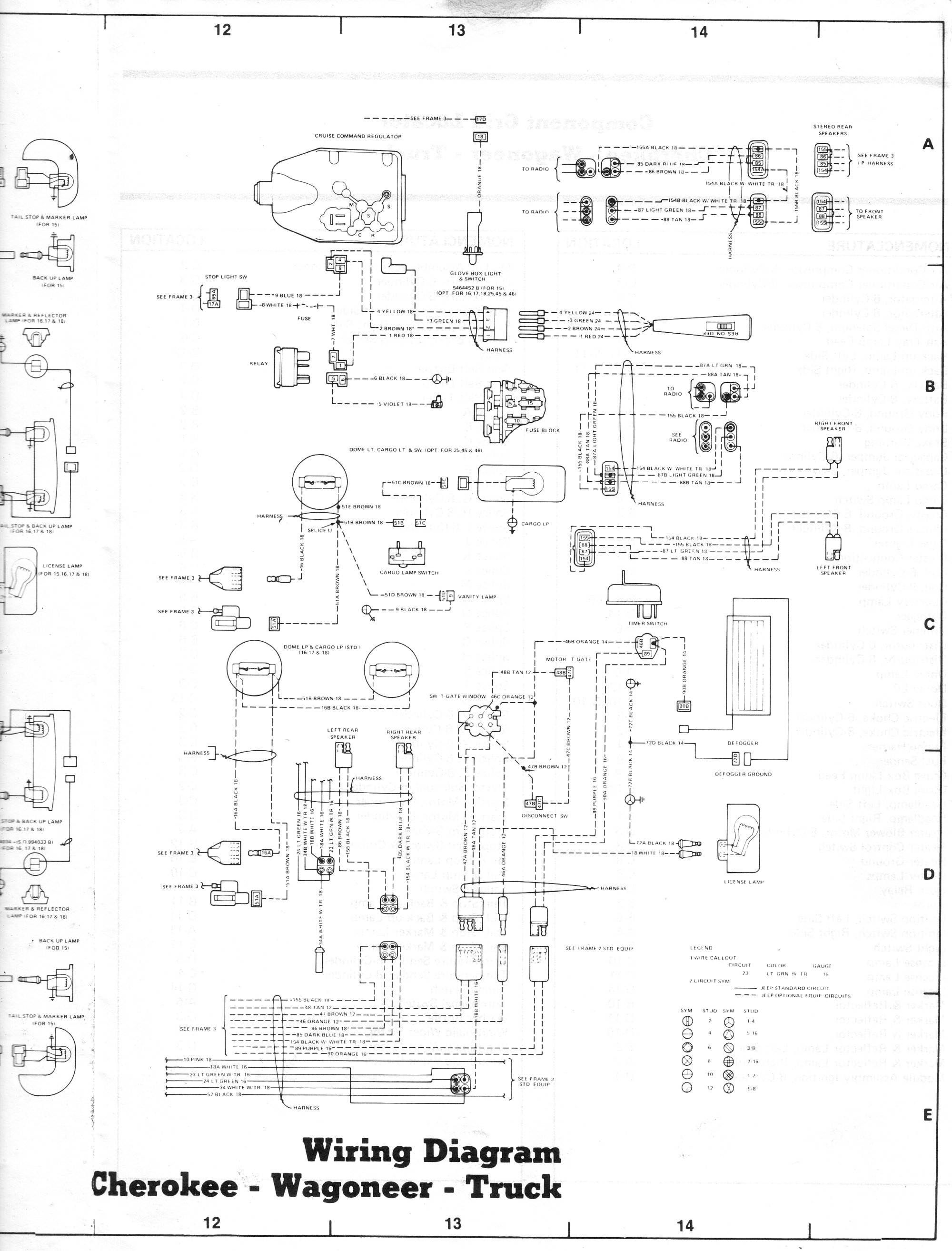 1985 jeep j10 wiring diagrams