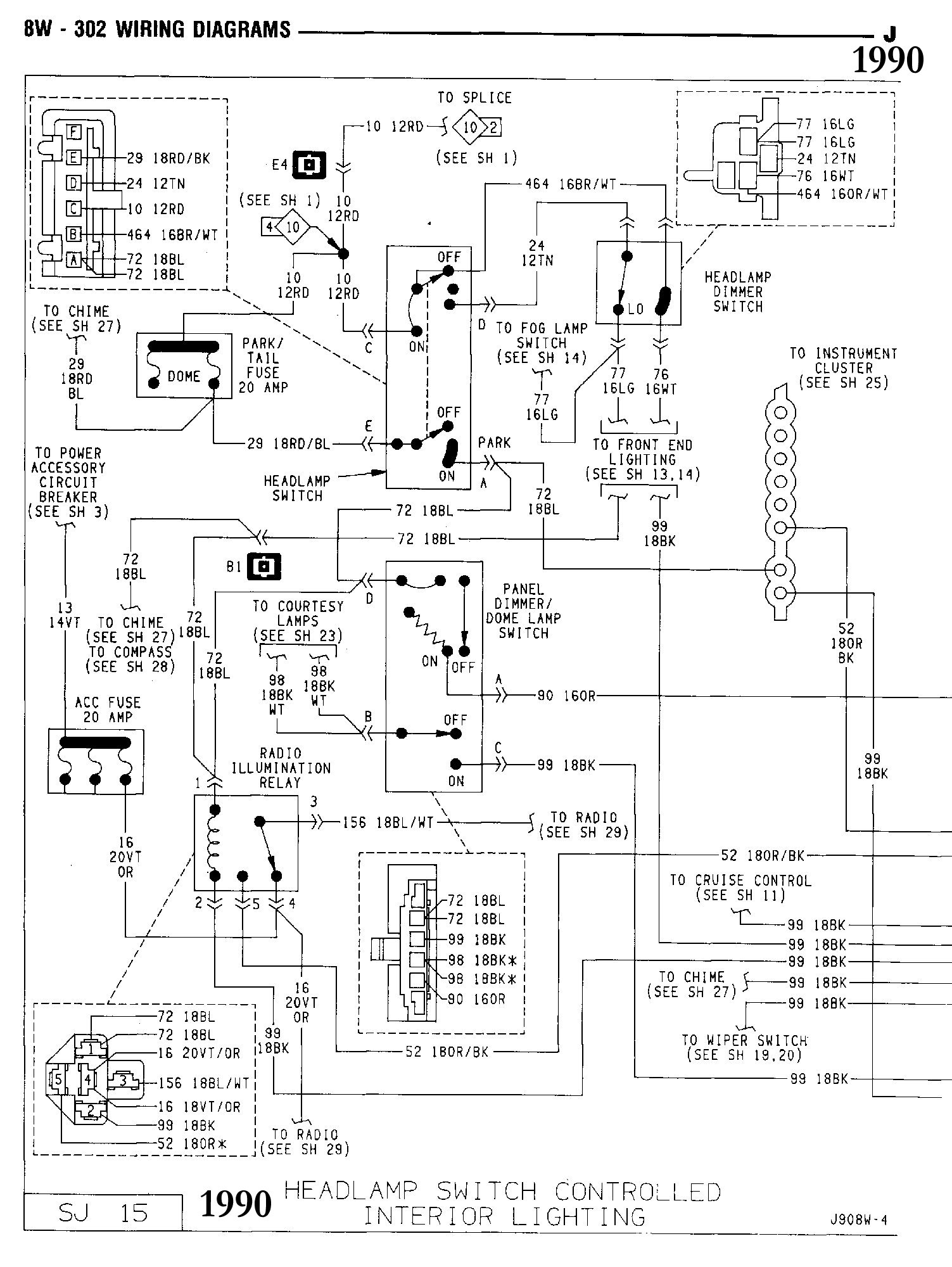 overhead console   compass modul