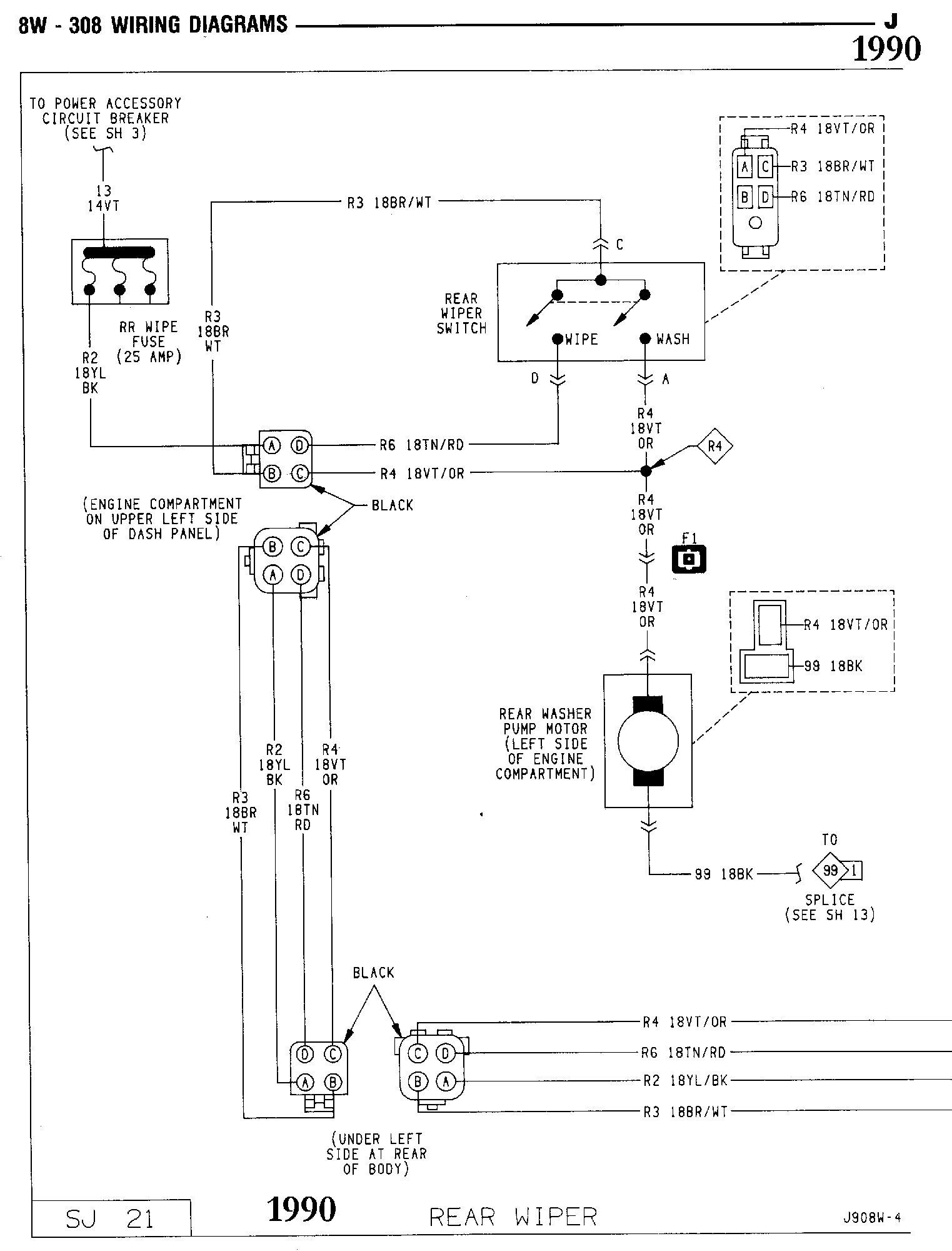 U0026 39 Oljeep U0026 39  Fsj Wiring Page