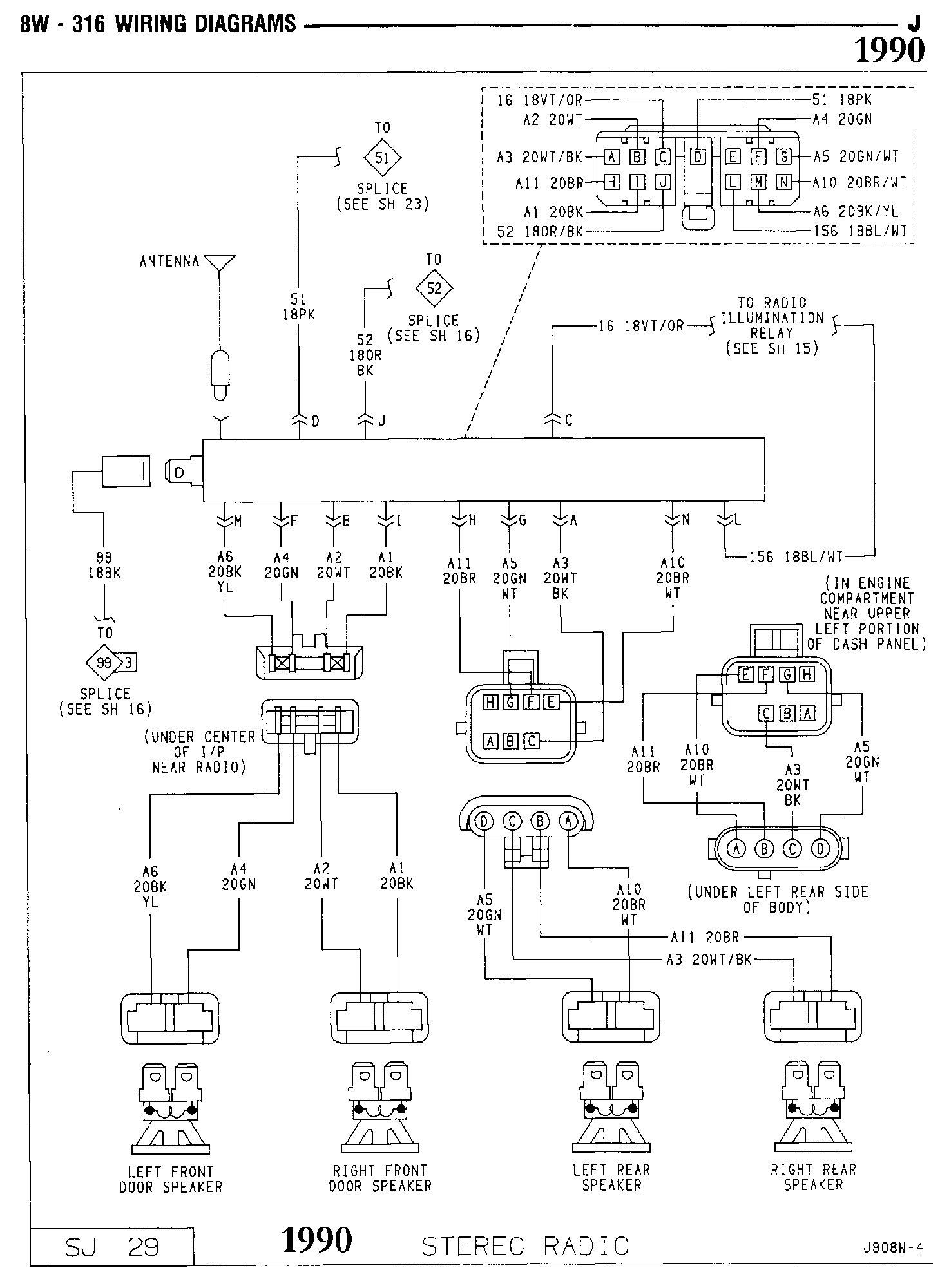 Radio Wiring Diagram Error