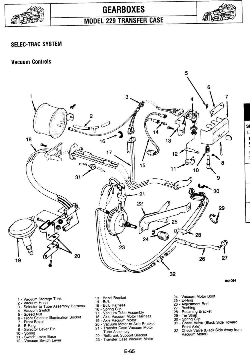 1984 Chevy S10 Vacuum Line Diagram